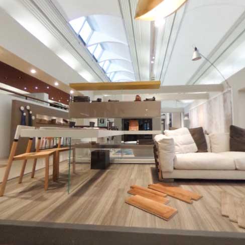 Zona soggiorno Lago e Dema | Addessi Design 360